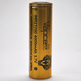 Vapcell 21700 28A Flat Top 4000mAh Battery