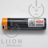 Protected Vapcell P1835A 18650 10A Button Top 3500mah USB Battery - Side