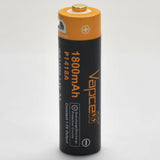 Protected Vapcell P1418A 14500 1.5A Button Top 1800mah 1.5V USB Battery
