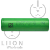 Sony/Murata VTC5A 30A-35A 2500/2600mAh Flat Top 18650 Battery - Side