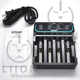 XTAR D4 Battery Charger - In Box