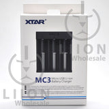 XTAR MC3 Battery Charger - Box