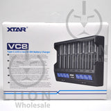 XTAR VC8 Battery Charger - Box