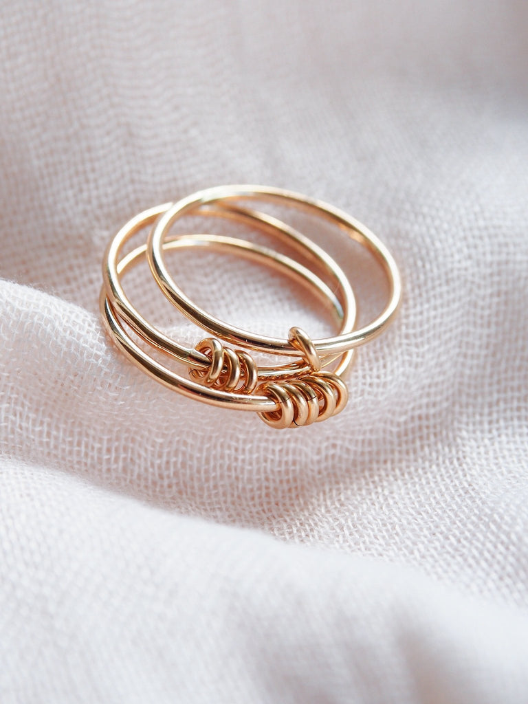 Rings - Custom Gold Mother's Ring - Nahiku - ke aloha jewelry