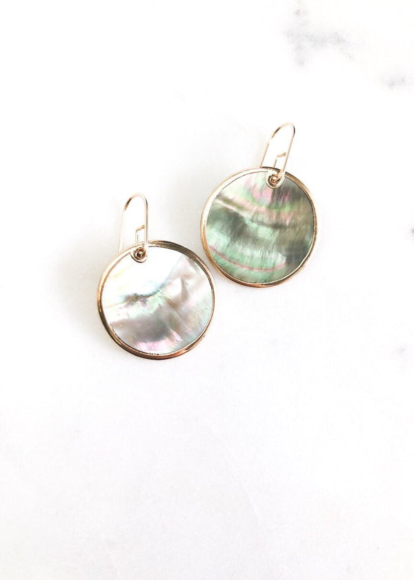 Sea Shell Dangle Earrings - Napua - Ke Aloha Jewelry