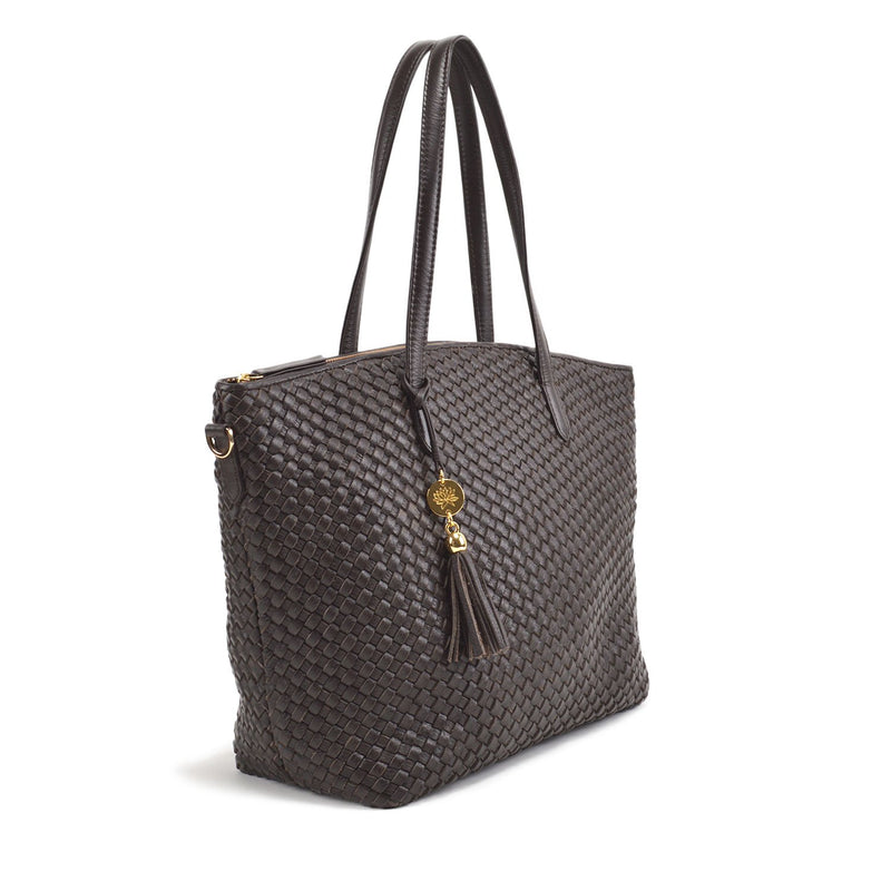 Cleo Dome Satchel Luxe