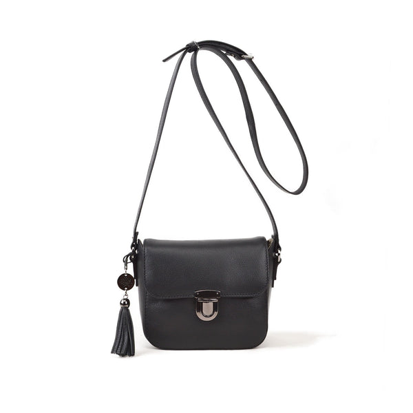 WATERLILY Los Angeles Womens Cyril Small-Lock Crossbody