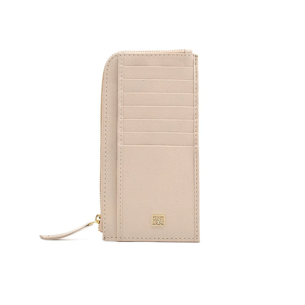 WATERLILY Los Angeles Womens Sam Zip Wallet