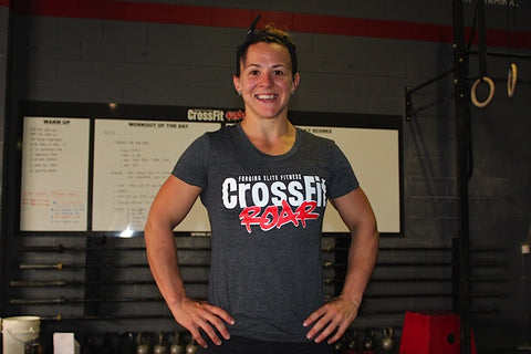 Womens CrossFit Roar T-Shirt