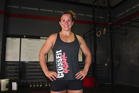 Womens CrossFit Roar Singlet