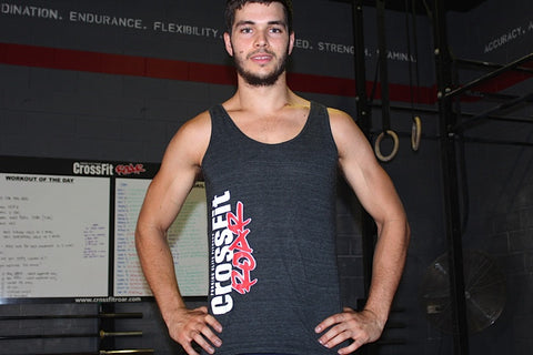 Mens CrossFit Roar Singlet
