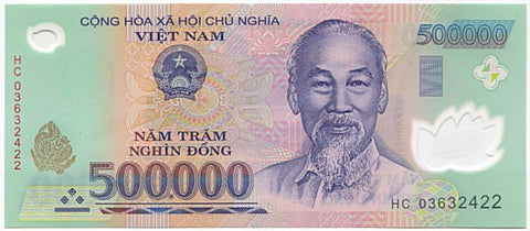 Vietnam Dong - Circulated Notes