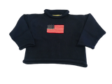 Navy Flag Sweater