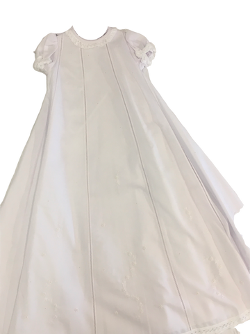 Will'beth Christening Gown - Ready to Monogram