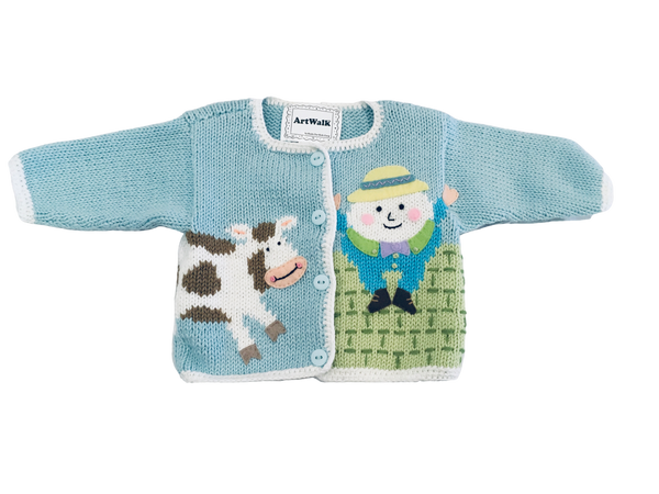 Artwalk Nursery Rhyme Sweater SOLD