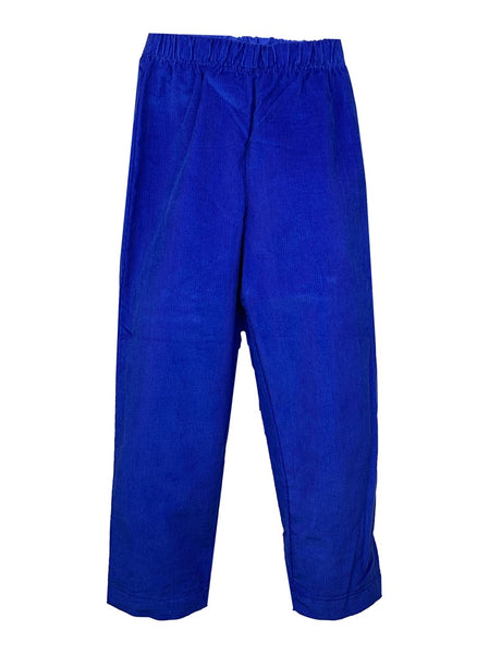 Lullaby Set Royal Blue Corduroy Pants
