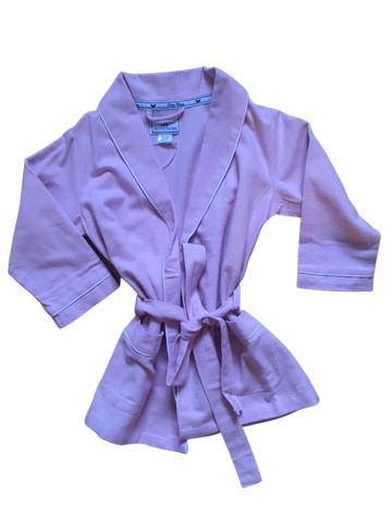 Girls Pink Robe