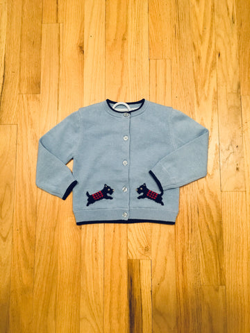 Rachel Riley Scottie Dog Sweater