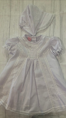 Will'Beth Short Christening or After Christening Dress