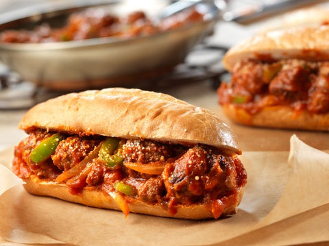 Italian Sausage, Peppers & Onion Hoagie Meal