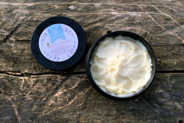 Body Butter -                                                      citrus mint, cocoa mint- 4 oz