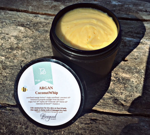 Argan Coconut Whip 4 oz.