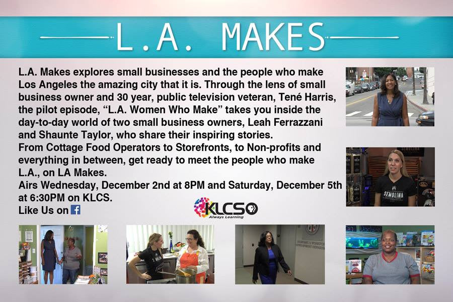 L.A. Makes Premieres Wednesday 12/2
