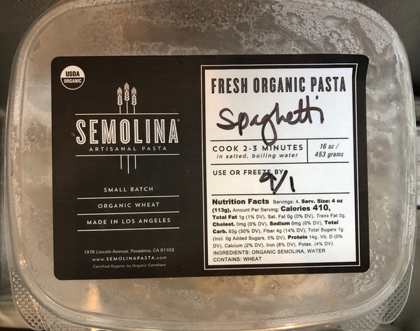 Half Off Semolina Fresh Spaghetti - Frozen (Pickup Only)