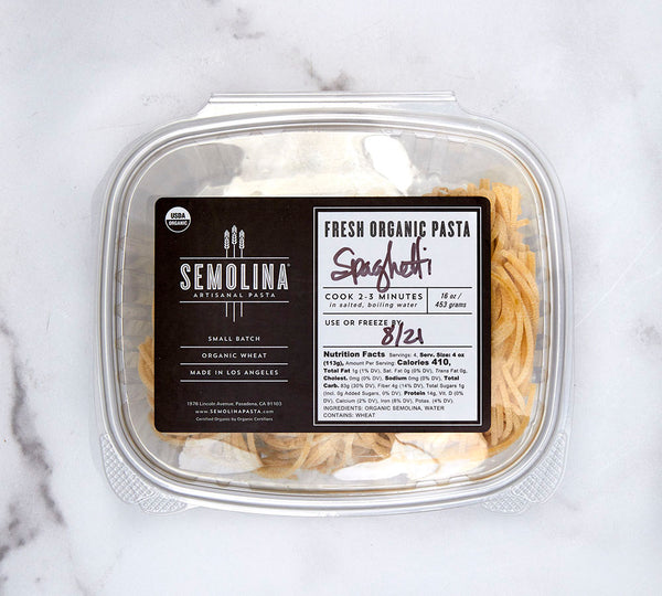 Semolina Fresh Spaghetti (Pickup Only)