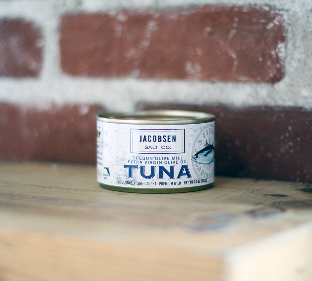 Jacobsen Salt Co. Olive Oil Packed Tuna
