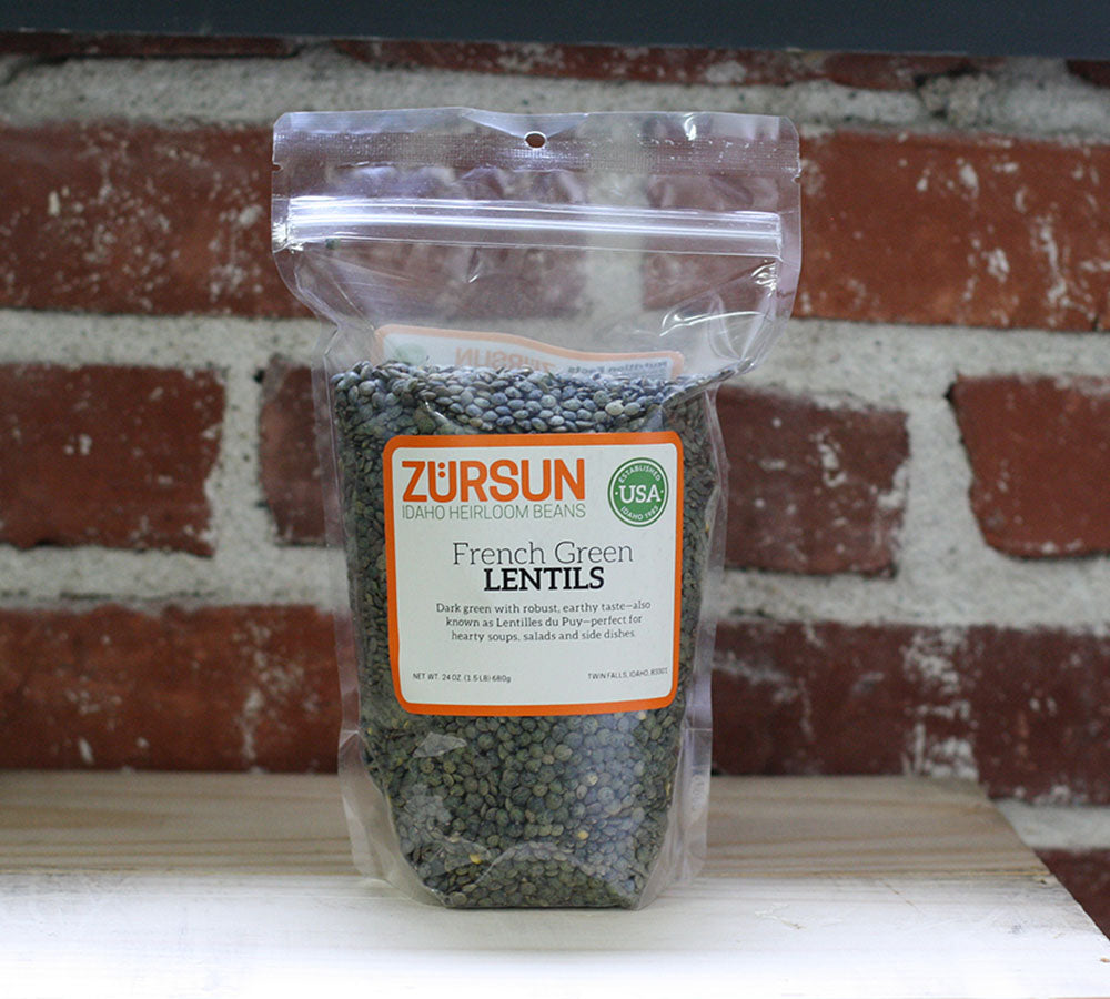 Zursun French Green Lentils