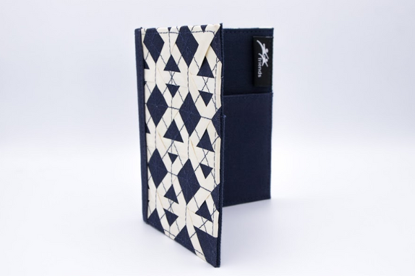 Palm Passport Cover- Navy