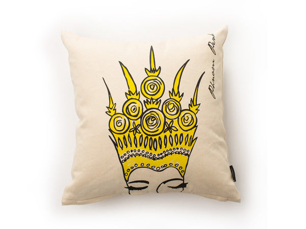 Apsara Cushion Cover