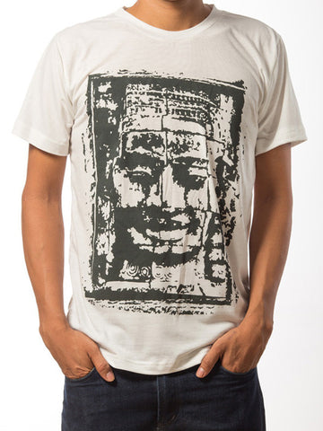 Bayon Face T-Shirt - White