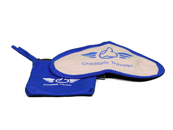ChildSafe Eye Mask & Carrying Bag (Blue)