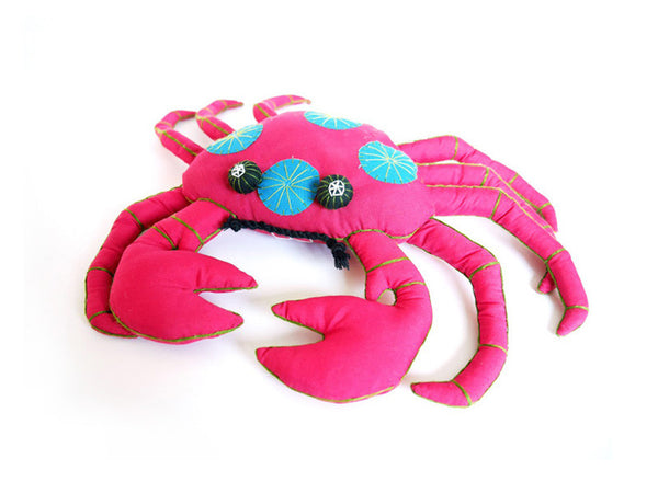 Cranky Crab Plush Toy