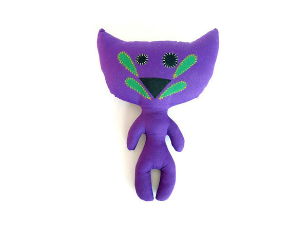 Crazy Cat Plush Toy