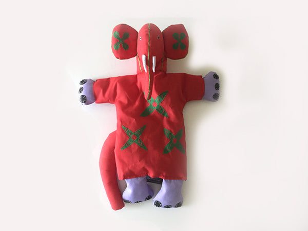 Elephant Puppet Plush Toy