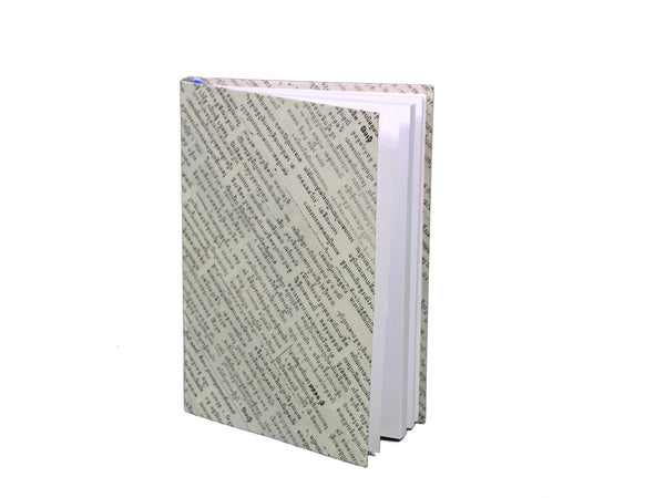 Newspaper Notebook