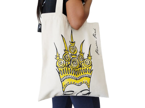Apsara Eyes Tote Bag
