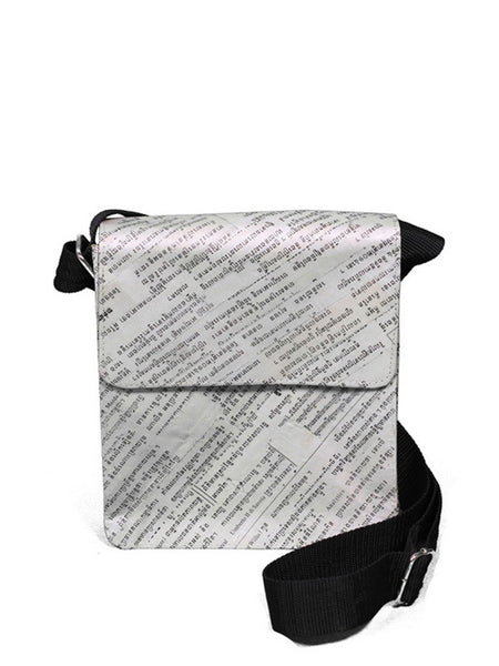 Newspaper Shoulder Bag