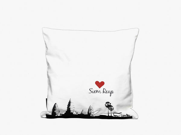 Love Siem Reap Cushion Cover