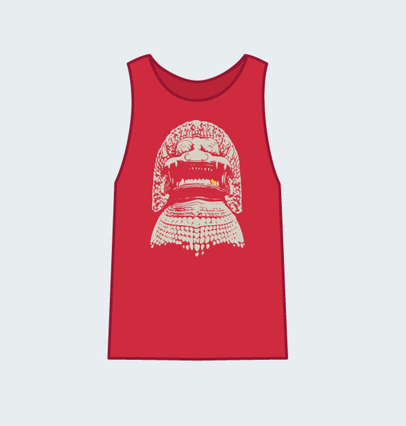 Stone Lion Tank - Red