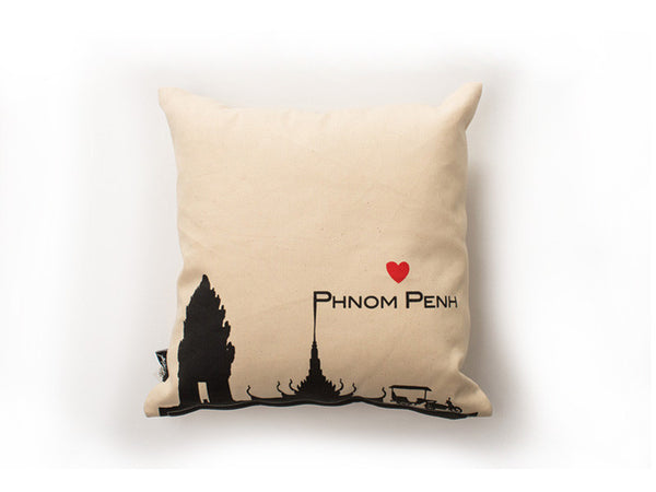 Love Phnom Penh Cushion Cover