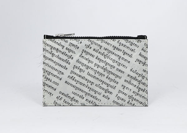 Newspaper Coin Pouch