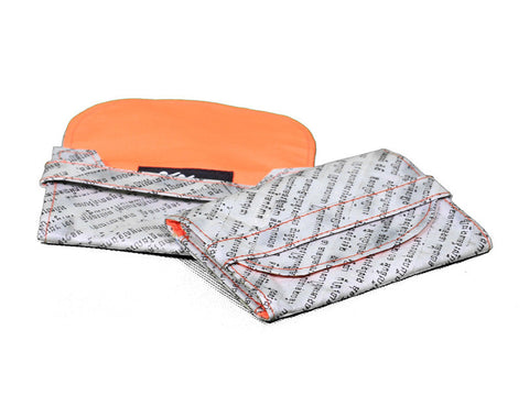 Newspaper Cardholder (Orange)