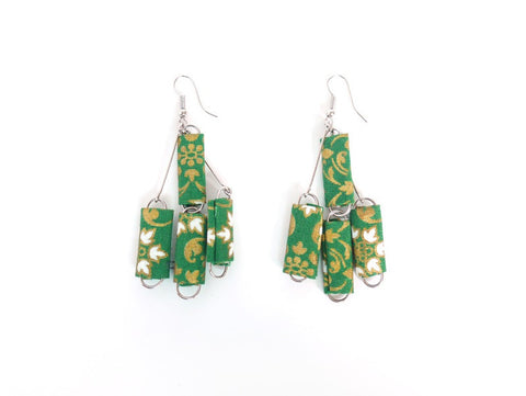 Paperclip Sarong Earrings