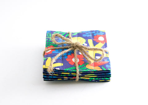 Rainforest Coasters (set of 6)