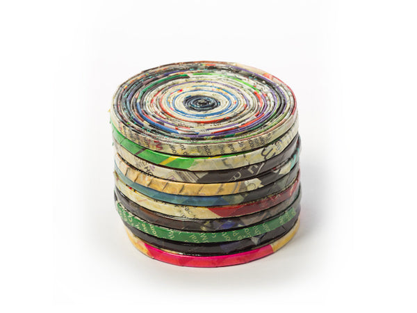 Rolled Paper Coaster