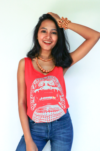 Stone Lion Tank for Women